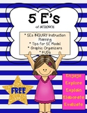 5Es Planning Tips & Graphic Organizers for Science Instruction