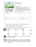 FREE 5th Grade Warm Up Bell Ringer Activities - Sunrise Skills
