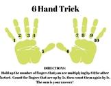 FREE 6 Multiplication Hand Trick Printable