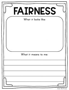 Character Traits Printables for Little Learners