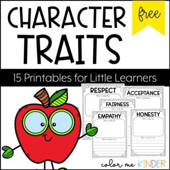 FREE 6 Virtue Printables for Little Learners