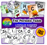 [FREE] 8 Elements from Periodic Table