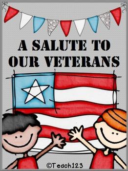 Veterans Day Readers Interactive Printables