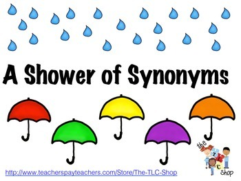 FREE! A Shower of Synonyms