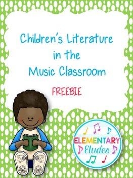 FREE - A Soup Opera (Children's Lit & Music Mini Lesson)
