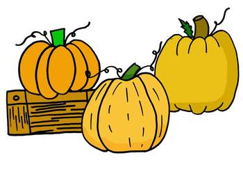 FREE A Trip to the Pumpkin Patch Clipart by Learning 4 Keeps Design!