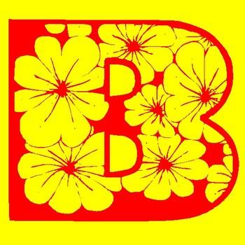 FREE A-Z FLOWER ALPHABETS