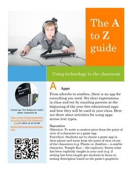 FREE A-Z of technology in the classroom