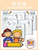 FREE ABC Tracing Worksheets Alphabet (A-Z) Upper & Lower C