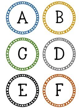 FREE: ABC uppercase