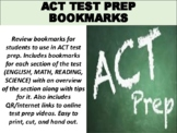 FREE ACT Test Prep Bookmarks