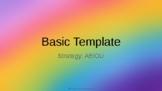 FREE AEIOU Comprehension Strategy EDITABLE BLANK TEMPLATE