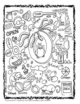 FREE ALPHABET DOODLE POSTER SAMPLE WITH ACTIVITY