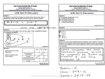 FREE ANSWER KEY!! How to Pass the Math FSA - Grade 4 - The COMPLETE Guide
