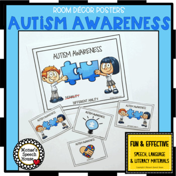 FREE! AUTISM AWARENESS POSTERS FREE!