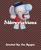 FREE Abbreviations - Days, Months, Titles, Locations!!! Ce