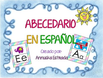 FREE ¡Abecedario en Español! Spanish ABC!!