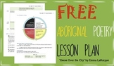 FREE Aboriginal Métis Poetry Lesson Plan