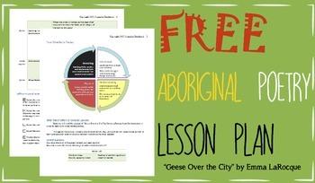 FREE Aboriginal Métis Poetry Lesson Plan