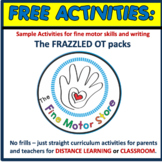 FREE Activity Samples from The Frazzled OT Packs