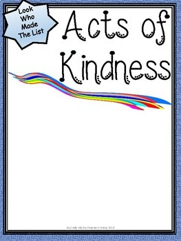photograph regarding Random Act of Kindness Printable referred to as Random Functions of Kindness Printable Poster