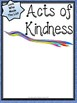 FREE Acts of Kindness Printable Poster