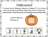 FREE Adapted Worksheet for HALLOWEEN!  Autism, Special Education