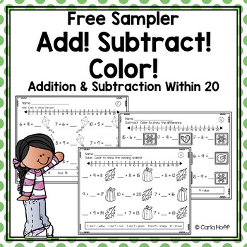 It is a photo of Free Printable Addition and Subtraction Worksheets within first grade