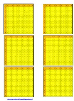 FREE Addition Table Labels