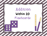 FREE: Addition Within 20: Flash Cards