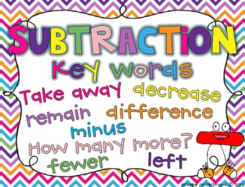 Math Key Words Sort Teaching Resources | Teachers Pay Teachers