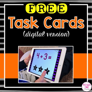 FREE Addition to 10 Digital Task Cards