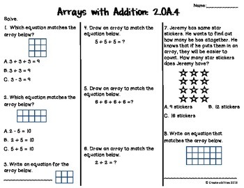 Addition With Arrays Test