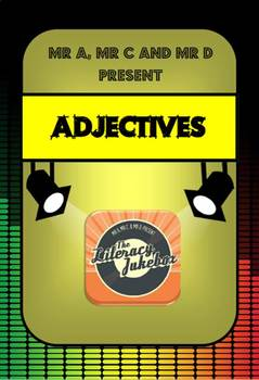 FREE Adjectives Song by Mr A, Mr C and Mr D Present