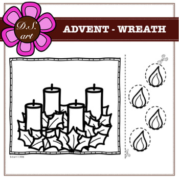 Free Advent Wreath Clip Art with No Background - ClipartKey