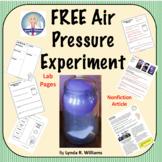 FREE Air Pressure Experiment