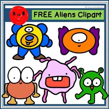 FREE Alien Clipart