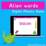 FREE! Alien Words Game. Online Phonics Games | Phonics Scr