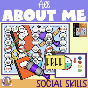 FREE! All About Me- Board Game