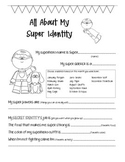 {FREE} All About Me- Superhero