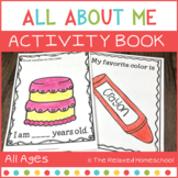 FREE All About Me Workbook