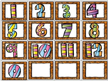 FREE All About Me and My Friends 0 to 12 Math Activity