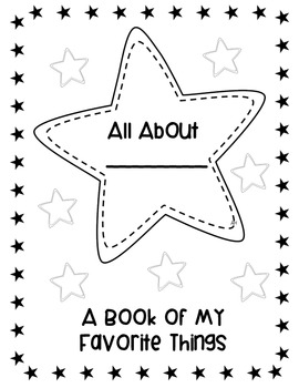 image relating to All About Me Free Printable known as \