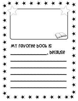 """""""All About Me"""" printable book (Free)"""