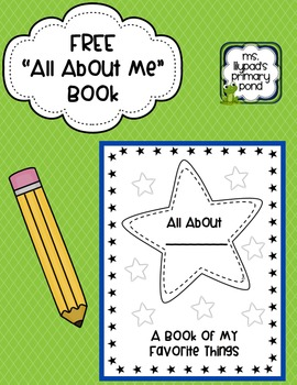 """All About Me"" printable book (Free)"
