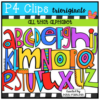 FREE All That ALPHABET (P4 Clips Trioriginals)