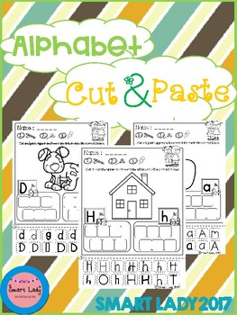 FREE Alphabet Cut and Paste