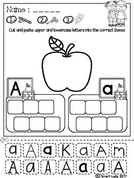 FREE Alphabet Cut and Paste