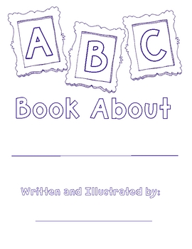photo about Abc Book Printable named Totally free Alphabet E-book Template
