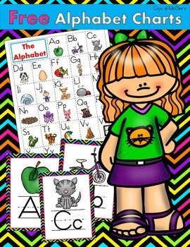 FREE Alphabet Charts for Guided Reading (Including Alphabe